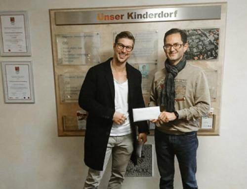 Spende zum Jahresabschluss 2018 an das Kinderdorf Irschenberg